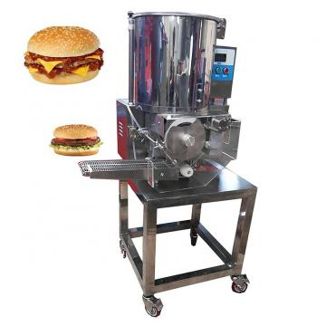 New Type of Hamburger/Burger Paper Lunch Box Folding Gluing Machine