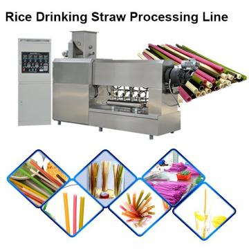 New Biodegradable Rice Straw Edible Straw Eatable Straw Equipment
