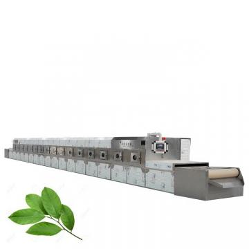 Industrial Tunnel Microwave Rose Leaves Black Tea Drying Machine
