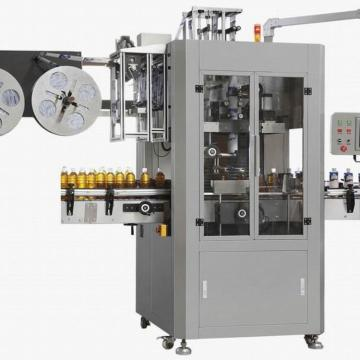 Automatic Bottle Sleeve Label Shrinking Packing Machine for Bottle Jar Tin