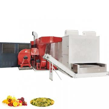 Microwave Continous Conveyor Belt Sterilizer Dryer Food Vacuum Drying Machine