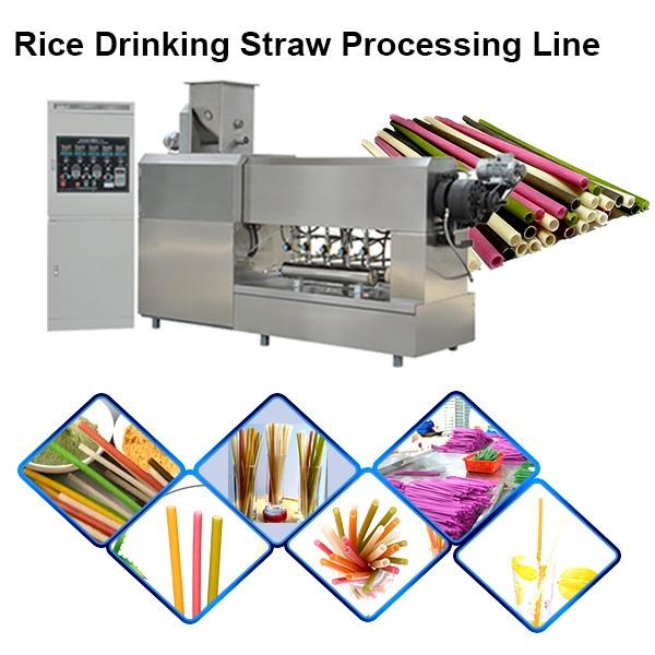 New Biodegradable Rice Straw Edible Straw Eatable Straw Equipment #1 image
