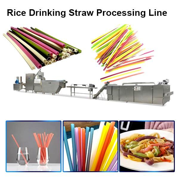 Production Line Machines for Rice Straws #1 image