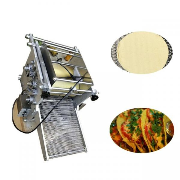 Non-Stick Stainless Steel Commercial Chapati Press Rolling Machine #1 image