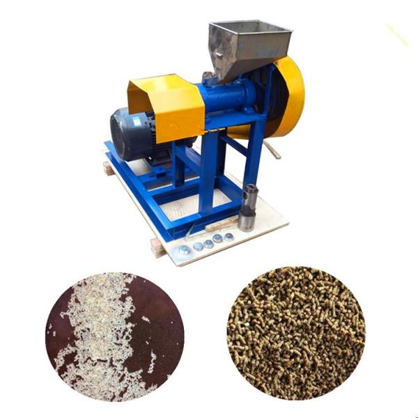 Fish Feed Making Equipment Pig Feed Bird Food Pellet Machine #1 image
