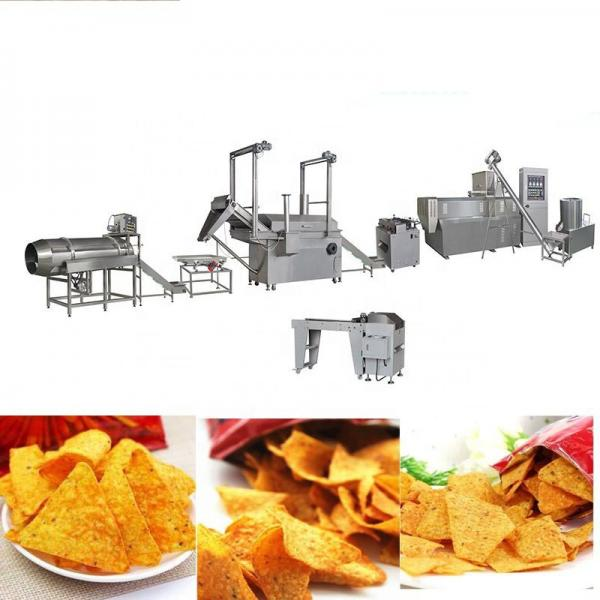 Stainless Steel Doritos Tortilla Corn Chips Snack Food Extruded Processing Machine Tortilla Chips Production Line #1 image