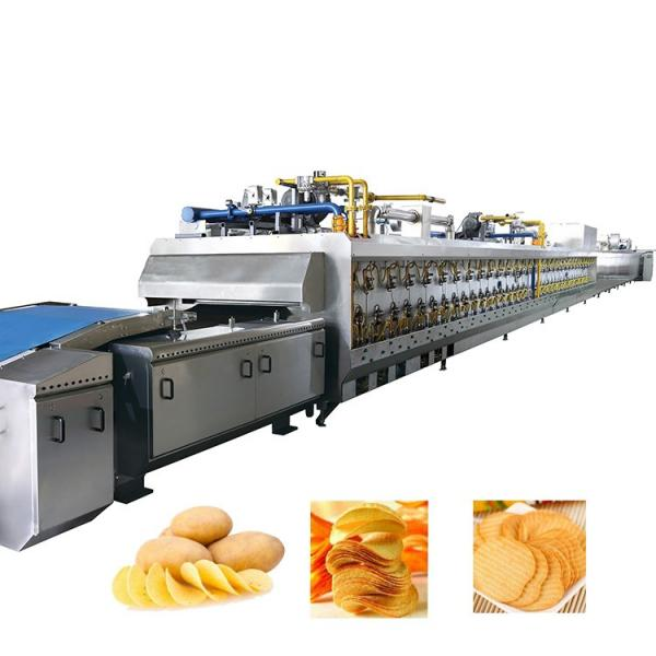 Automatic Potato Chips/Popcorn/Beans/Seeds/Rice/Vegetable/Fruit Packaging Machine, Banana Slices Nitrogen Puffed Food Packing Machine #1 image