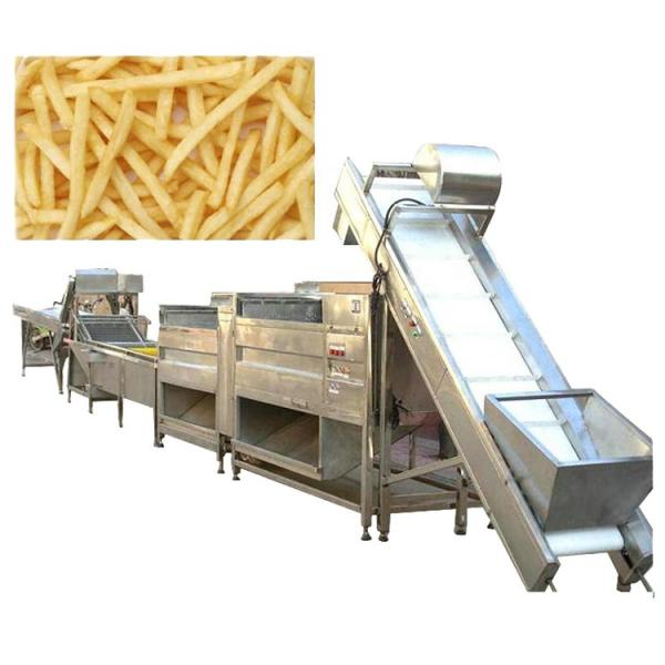Automatic Frying Machine New Condition Low Invest Potato Chips Making Machine Price #3 image