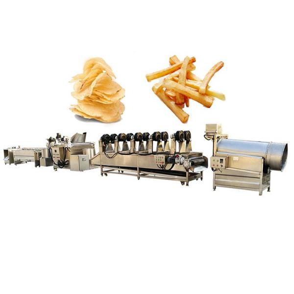 Automatic Frying Machine New Condition Low Invest Potato Chips Making Machine Price #1 image