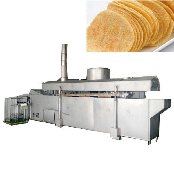 Automatic Potato Chips Puffed Snacks Making Machine Price Slanty Snack Bar Twin Screw Extruder Prices Puffed Corn Chips Snacks Food Making Machine #1 image