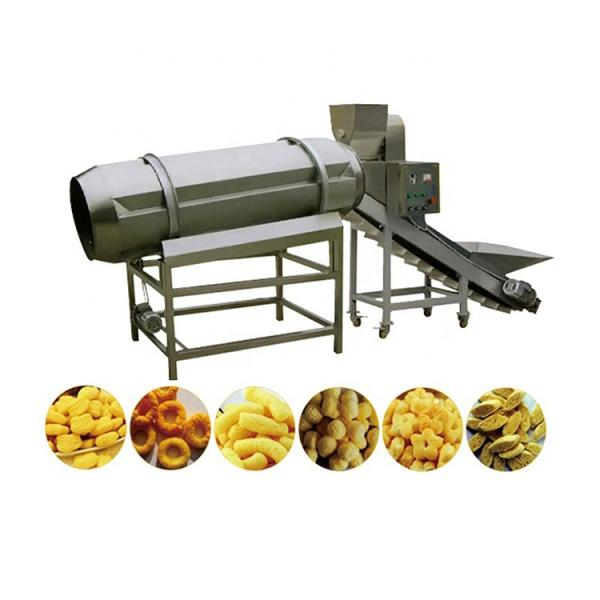 Fully Automatic Food Packaging Production Line for Wafer Biscuits Cereal Bar Wrapping Machine Cookies Feeding Flow Packaging Line #1 image
